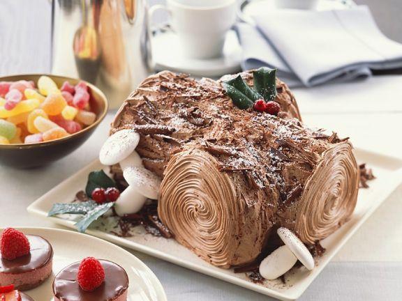 Weihnachtlicher Kuchen aus Frankreich