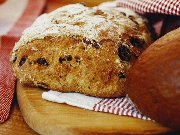 Weihnachtliches Brot aus Schweden