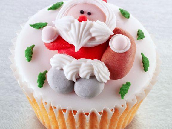 Weihnachts-Cupcake