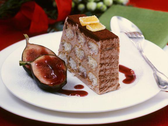 Weihnachts-Tiramisu mit Lebkuchen