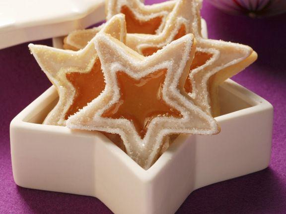 Weihnachtsplätzchen Zutaten.Weihnachtsplätzchen Mit Quittengelee