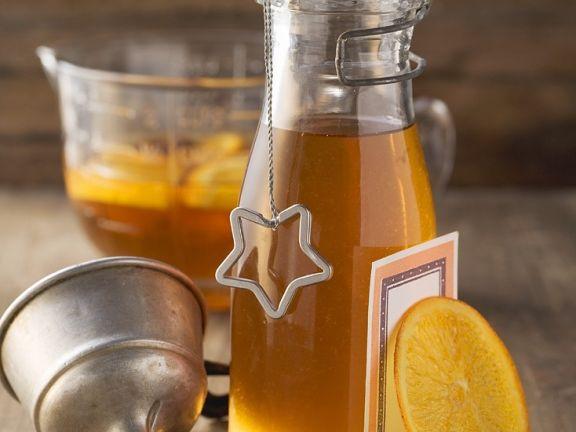 Weinbrand mit Orange