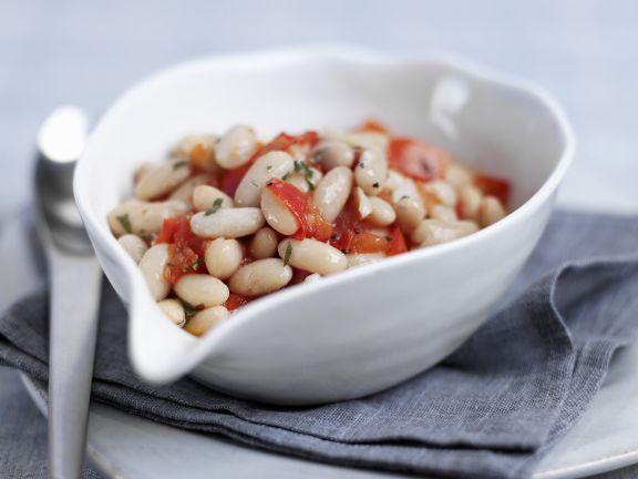 Weiße Bohnen mit Salbei