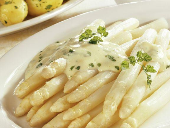 Weißer Spargel Mit Sauce Hollandaise Und Kartoffeln Rezept Eat Smarter