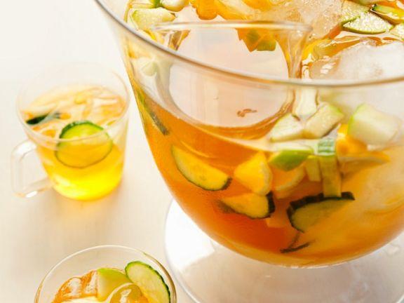 Weißwein-Früchtebowle