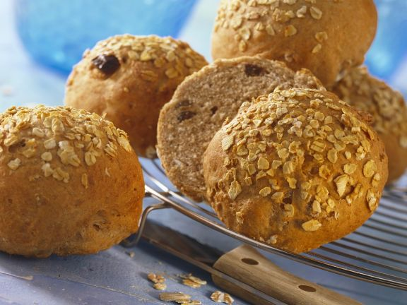 Weizen-Müslibrötchen