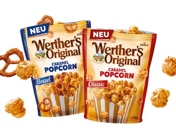 Werther's Original Caramel Popcorn Gewinnspiel