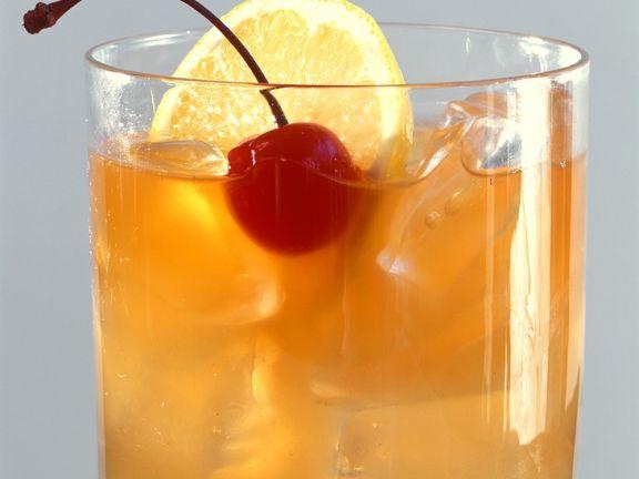 Whiskey-Zitronen-Cocktail