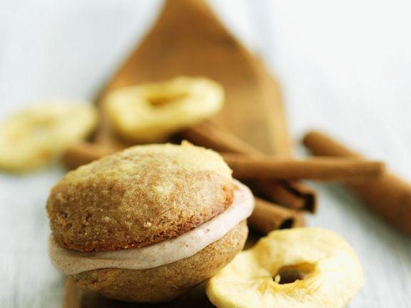 Whoopie-Apfel-Pies mit Zimt