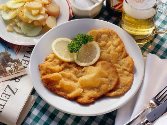 Wiener Schnitzel mit Kartoffeln