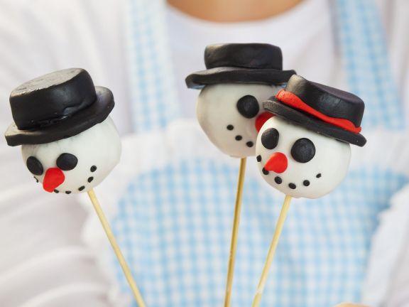 Winterliche Cake Pops