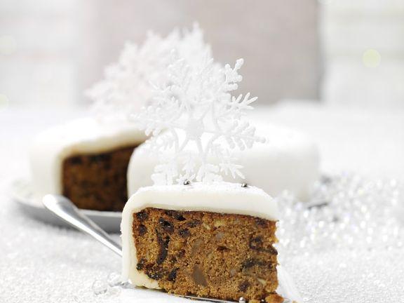 Winterlicher Früchtekuchen