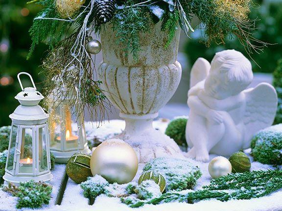 Winterliches Gesteck