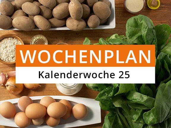 Eat Smarter Wochenplan Kalenderwoche 25