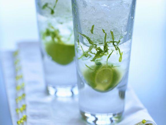 Wodka-Limetten-Cocktail