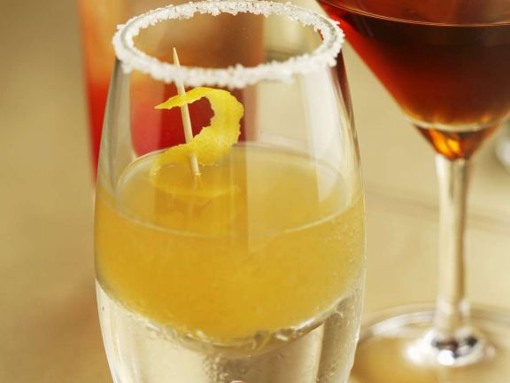 Wodka mit Orangenlikör