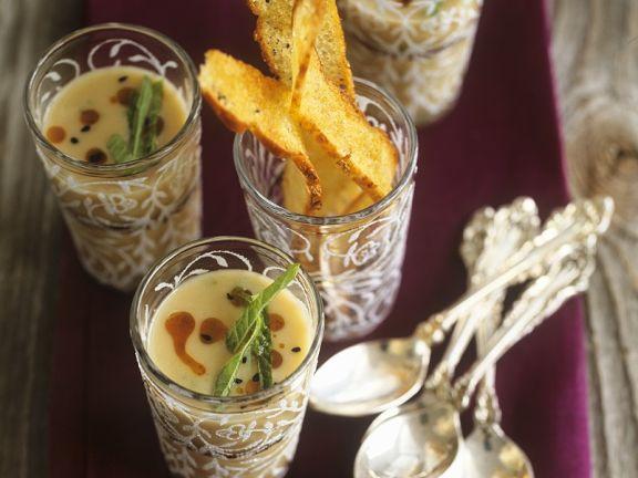 Würzige Bohnensuppe