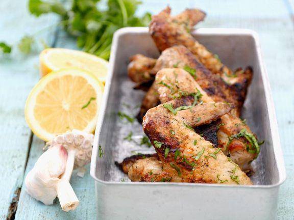Würzige Chicken Wings