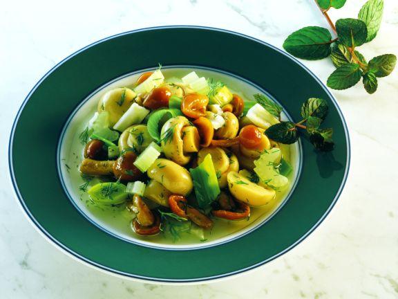Würziger Pilz-Salat