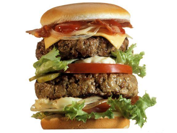 XXL-Hamburger