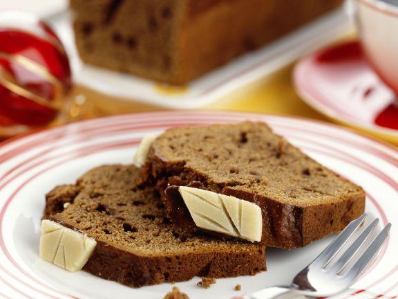 Zimt-Nougat-Kuchen
