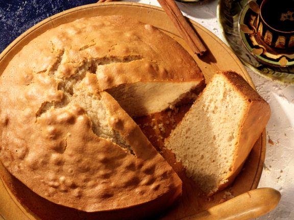Zimtkuchen mit Olivenöl