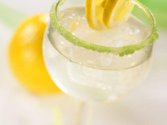 Zitronen-Minzlimonade