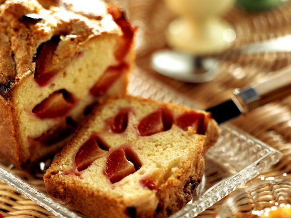 Zitronen-Pflaumen-Kuchen