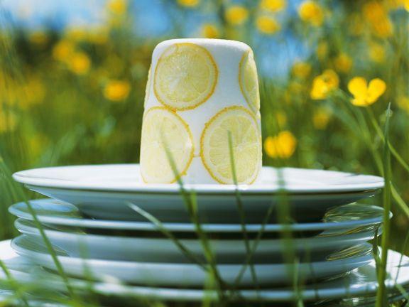 Zitronen-Quarkmousse