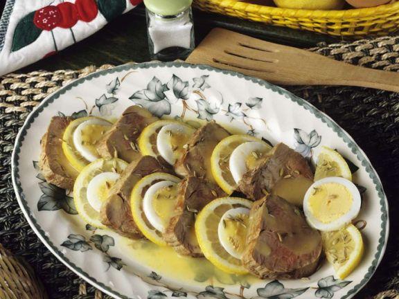 Zitronen-Schweinefilet
