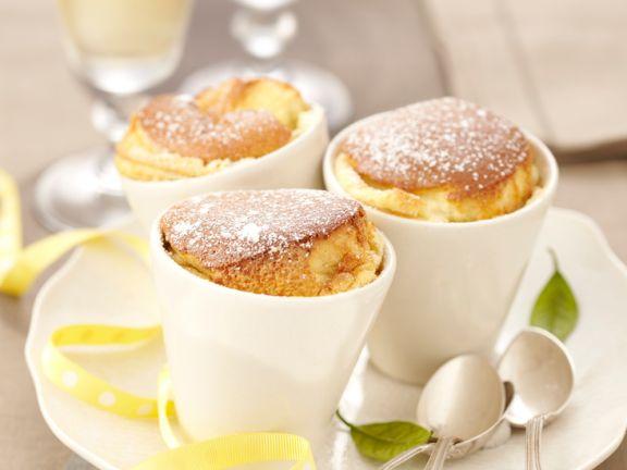 Zitronen-Souffles