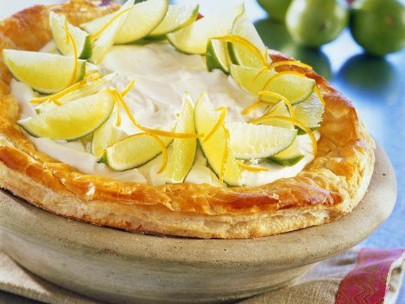 Zitronencreme-Tarte