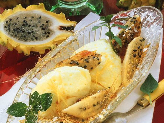 Zitronenmousse