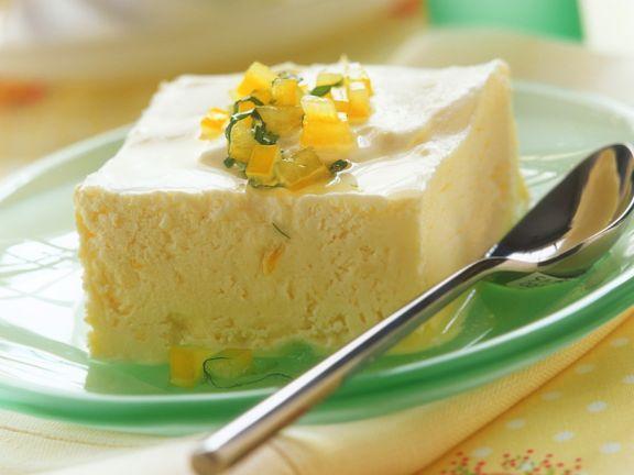 Zitronenparfait