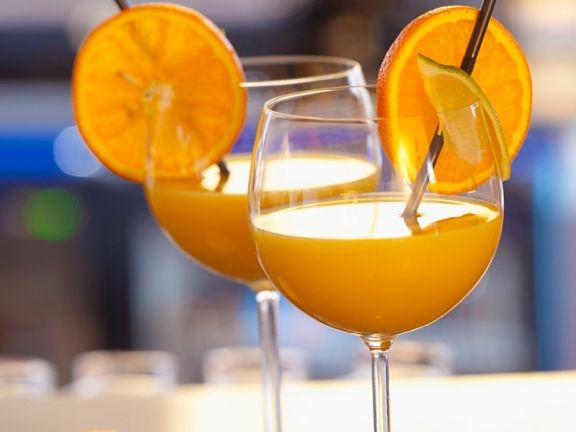 Zitrusfrüchte-Drink