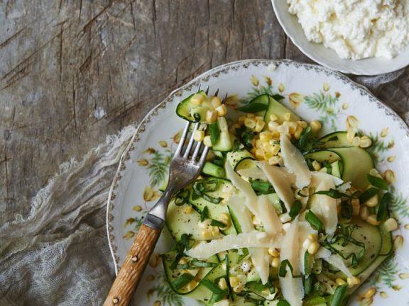 Zucchini-Mais-Salat