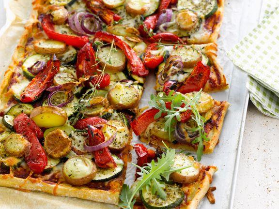 Rezept paprika zucchini