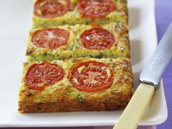 Zucchini-Tomatenkuchen