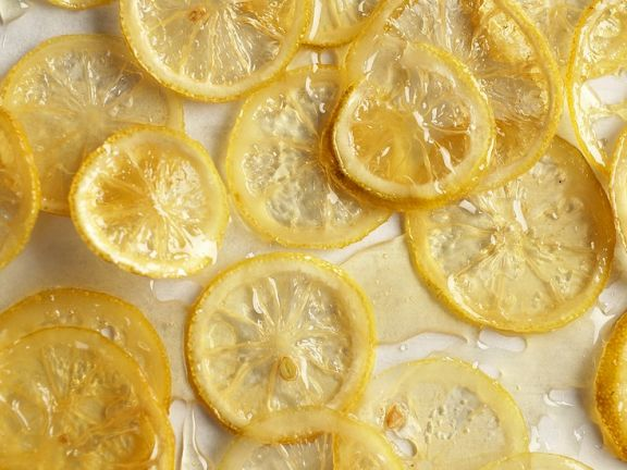 Zucker-Zitronenscheiben