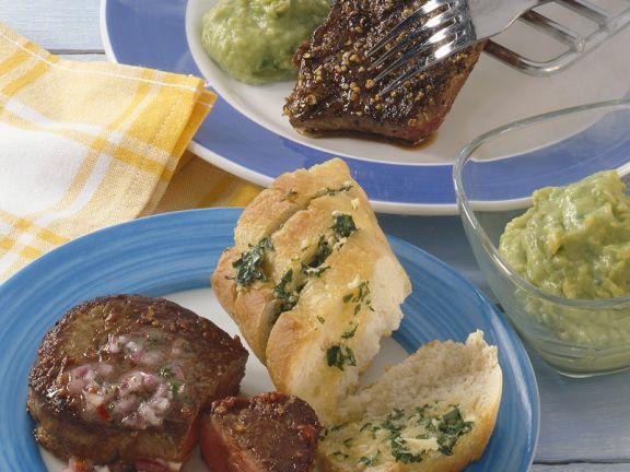 Zweierlei Steaks