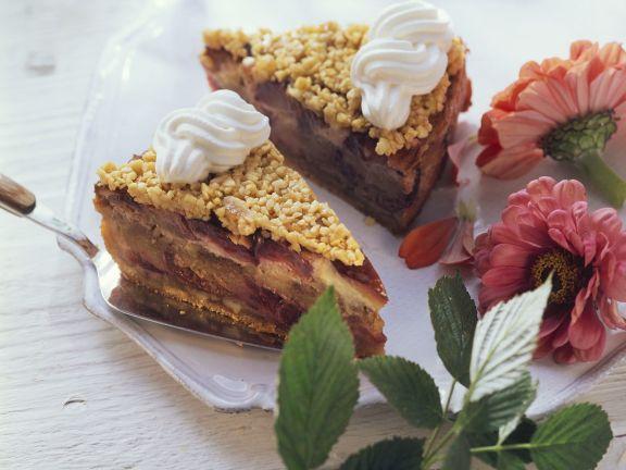 Zwetschgen-Mandelkuchen