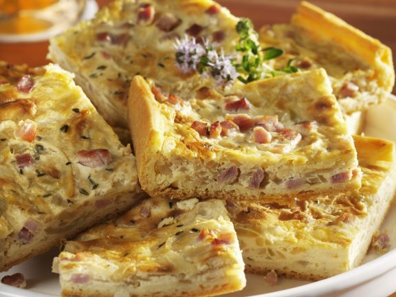 Zwiebel-Speck-Kuchen