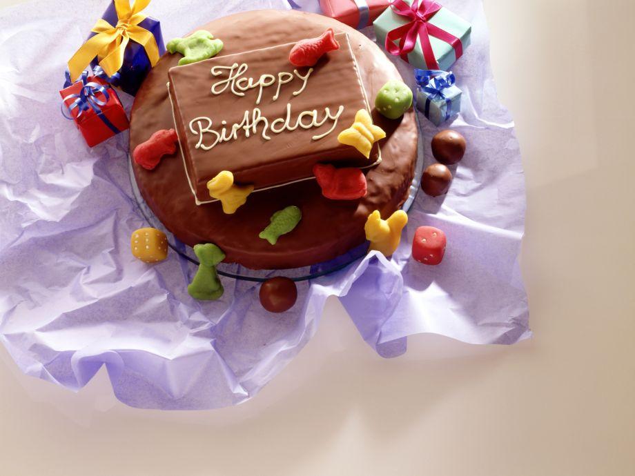 Layered Hazelnut And Marble Birthday Cake Recipe Eatsmarter