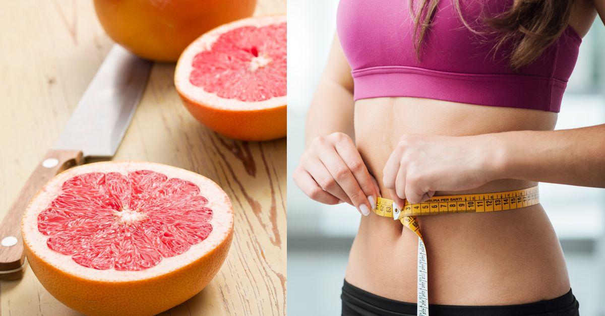 Die Grapefruit-Diät, um in einer Woche Gewicht zu verlieren