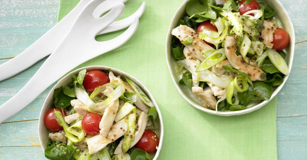 salat am abend zum abnehmen
