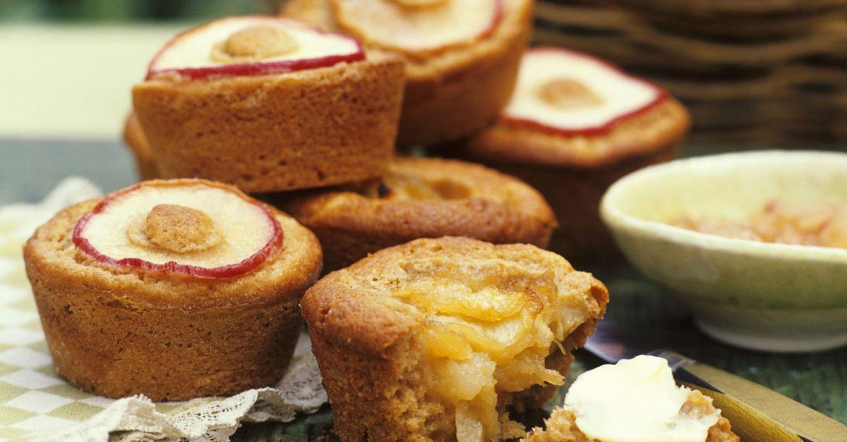 apfel muffins mit ahornsirup rezept eat smarter. Black Bedroom Furniture Sets. Home Design Ideas
