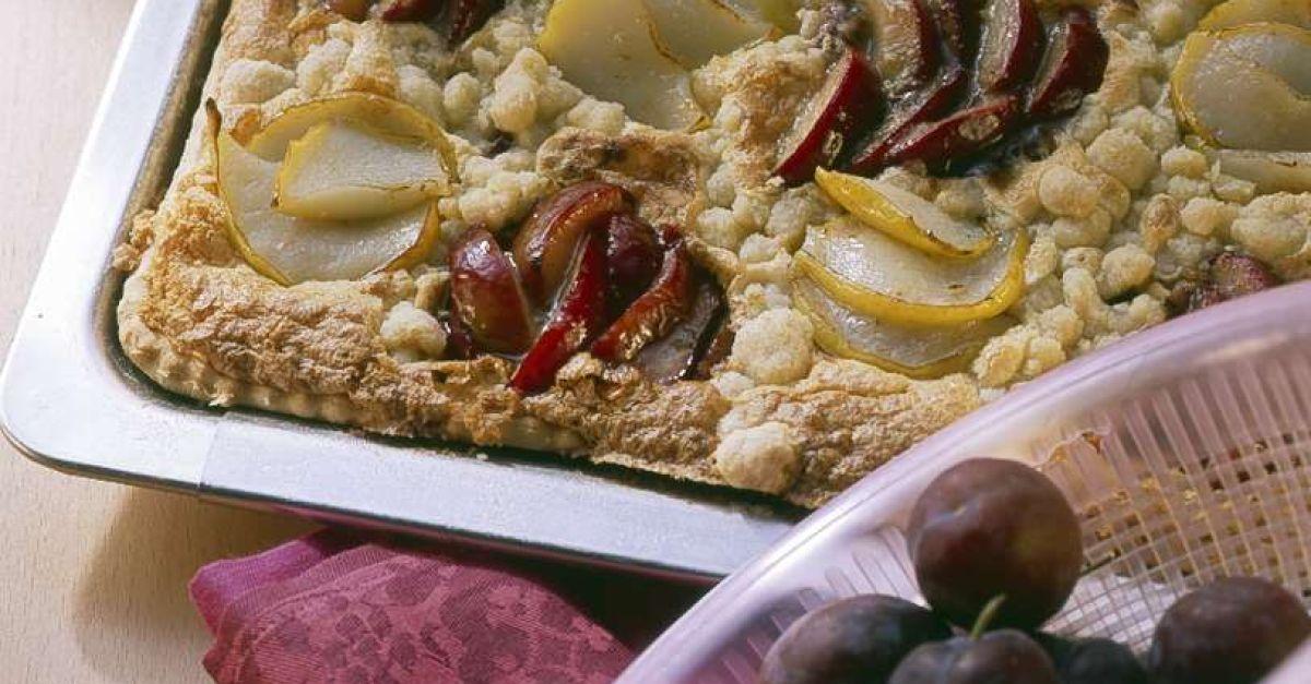 Birnen pflaumen kuchen
