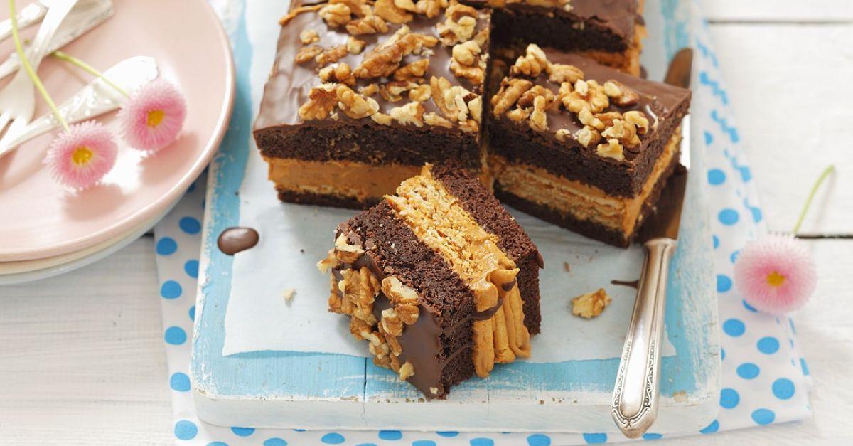 biskuit mit schokolade n ssen karamell und kekse rezept eat smarter. Black Bedroom Furniture Sets. Home Design Ideas