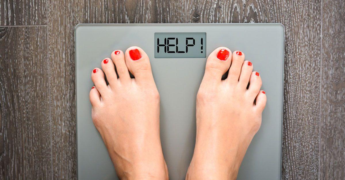 Kalt halten, Gewicht verlieren
