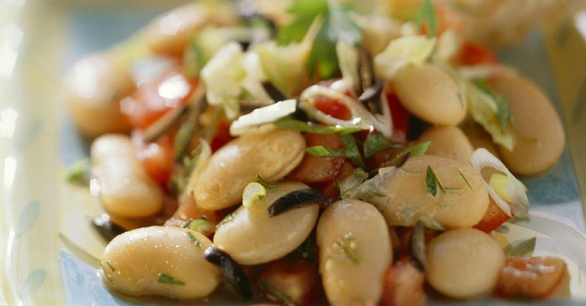 Salat dicke bohnen thunfisch